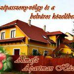 Almafa Apartmanház sarokról
