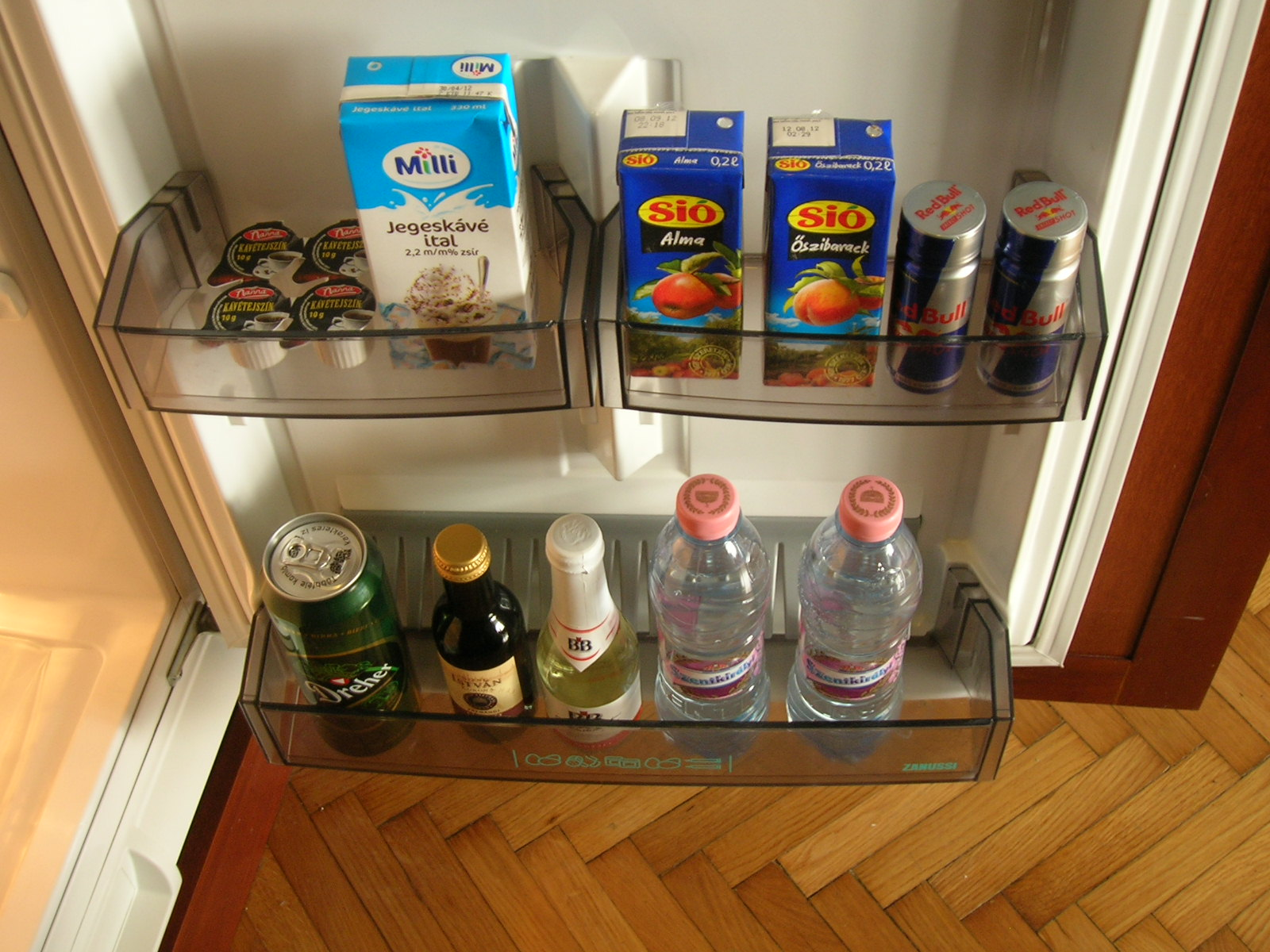Free of charge mini bar