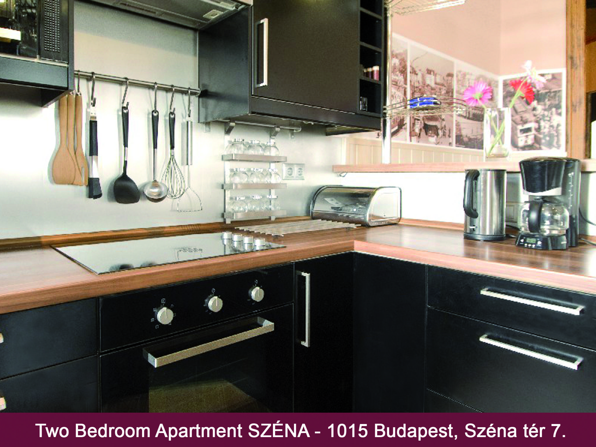 Dream Homes City Apartment Széna Budapest - Konyha