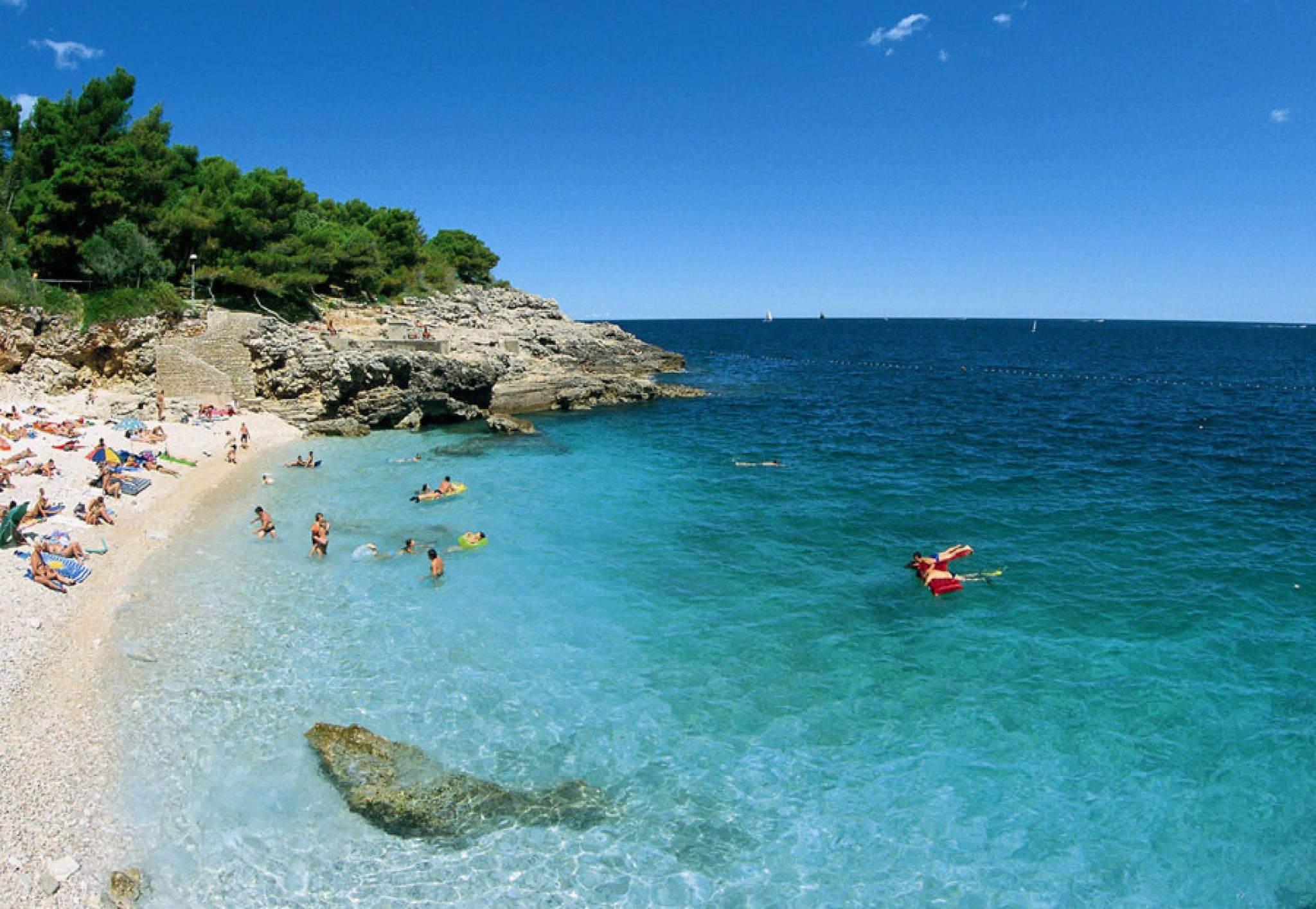 Pula Croatia Beach Beach in Pula