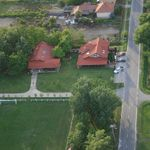 A vendégház madártávlatból (bird' eye view of the guest house)