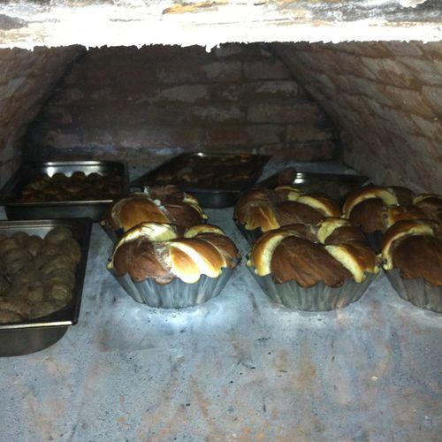 Kemencében sült kenyér