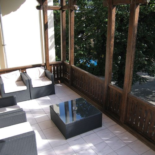 Hotel Park Balatonfüred - fotka terasy