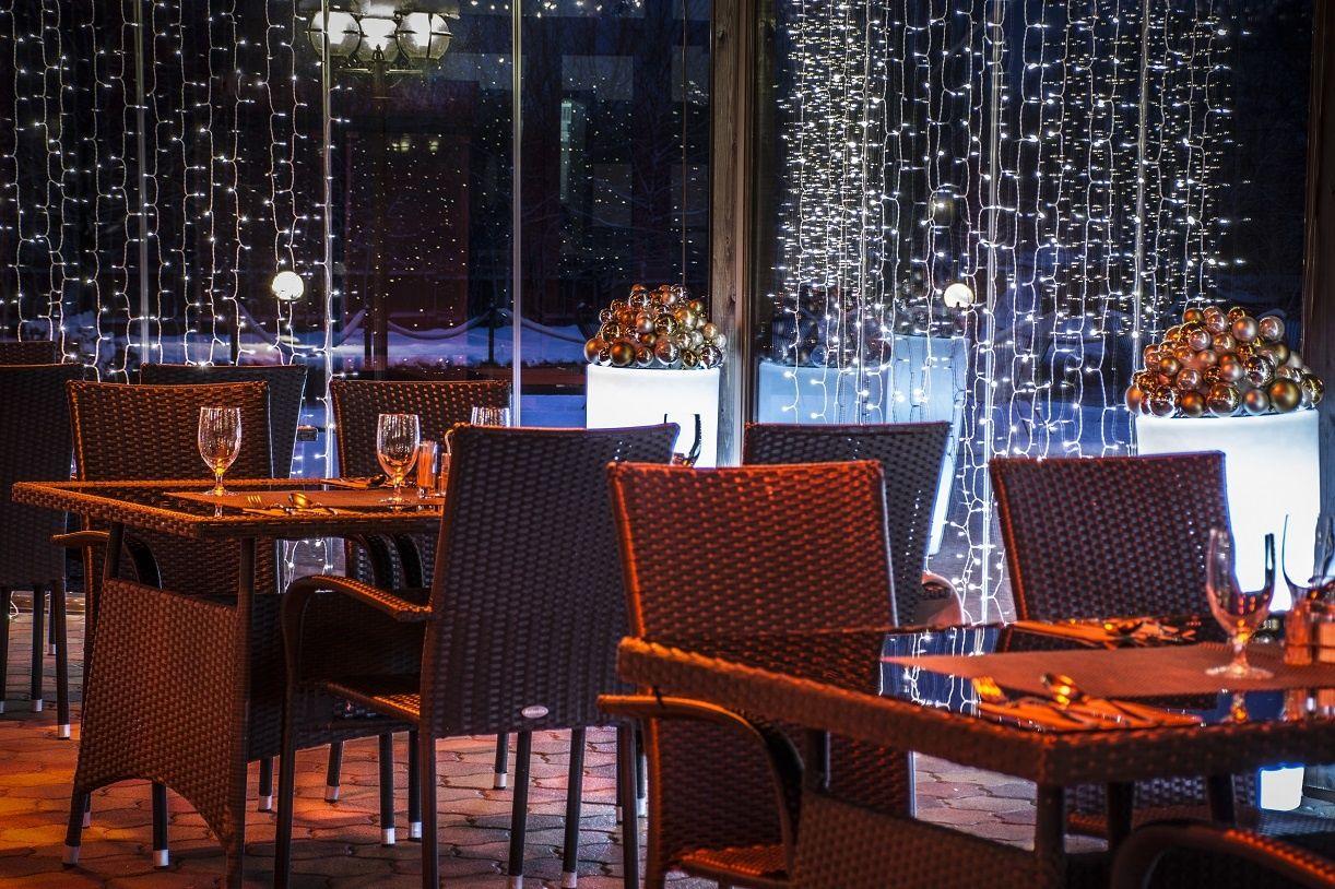 Hotel Du Lac Ráckeve - Körbeüvegezett panoráma terasz