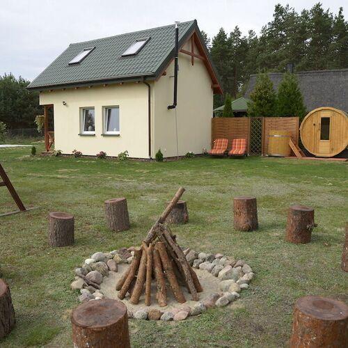 Domek z sauną Kaszubska Bacówka Nowa Karczma