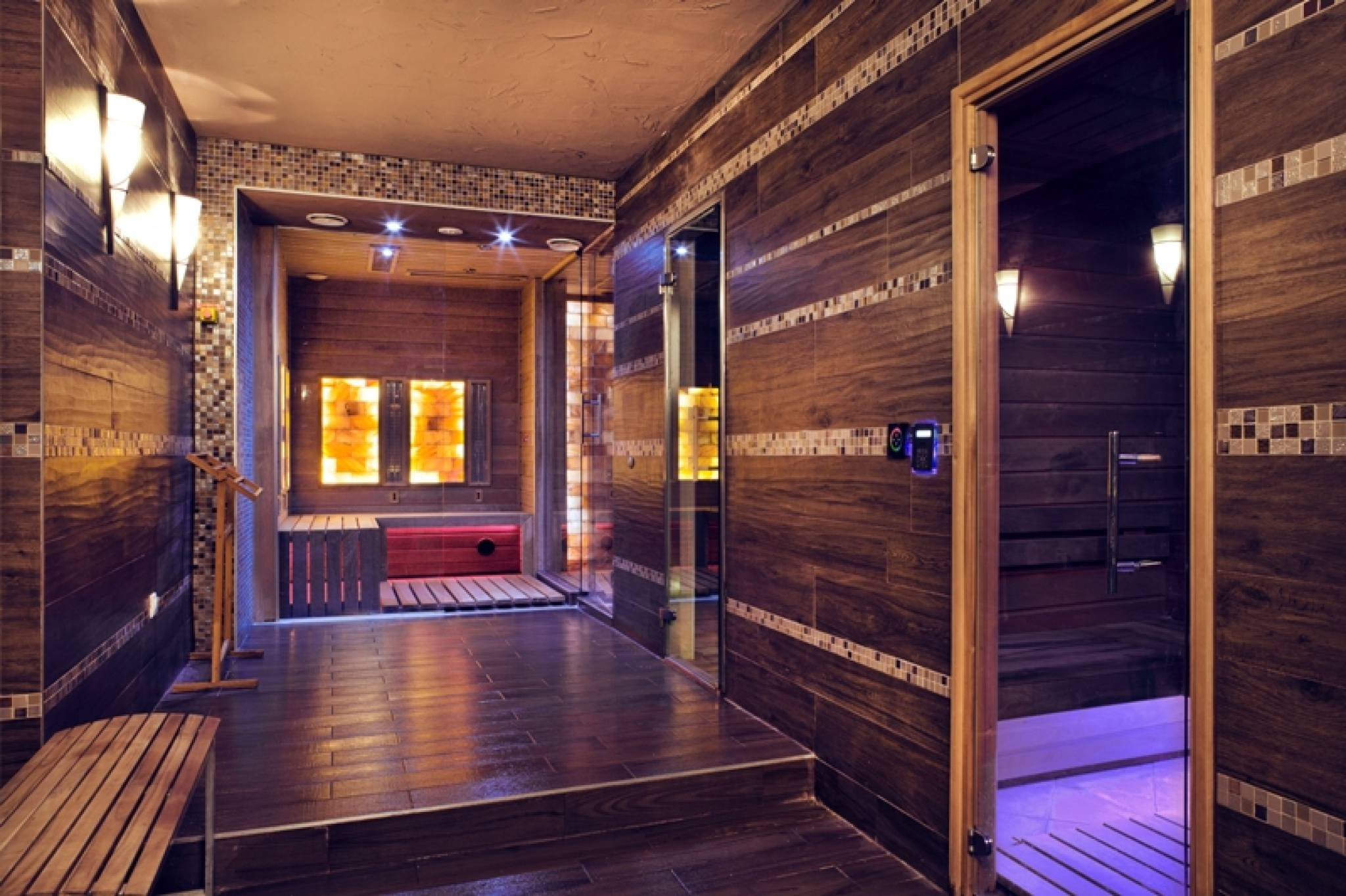 Echo Residence All Suite Hotel Tihany - Fénykép a szaunáról