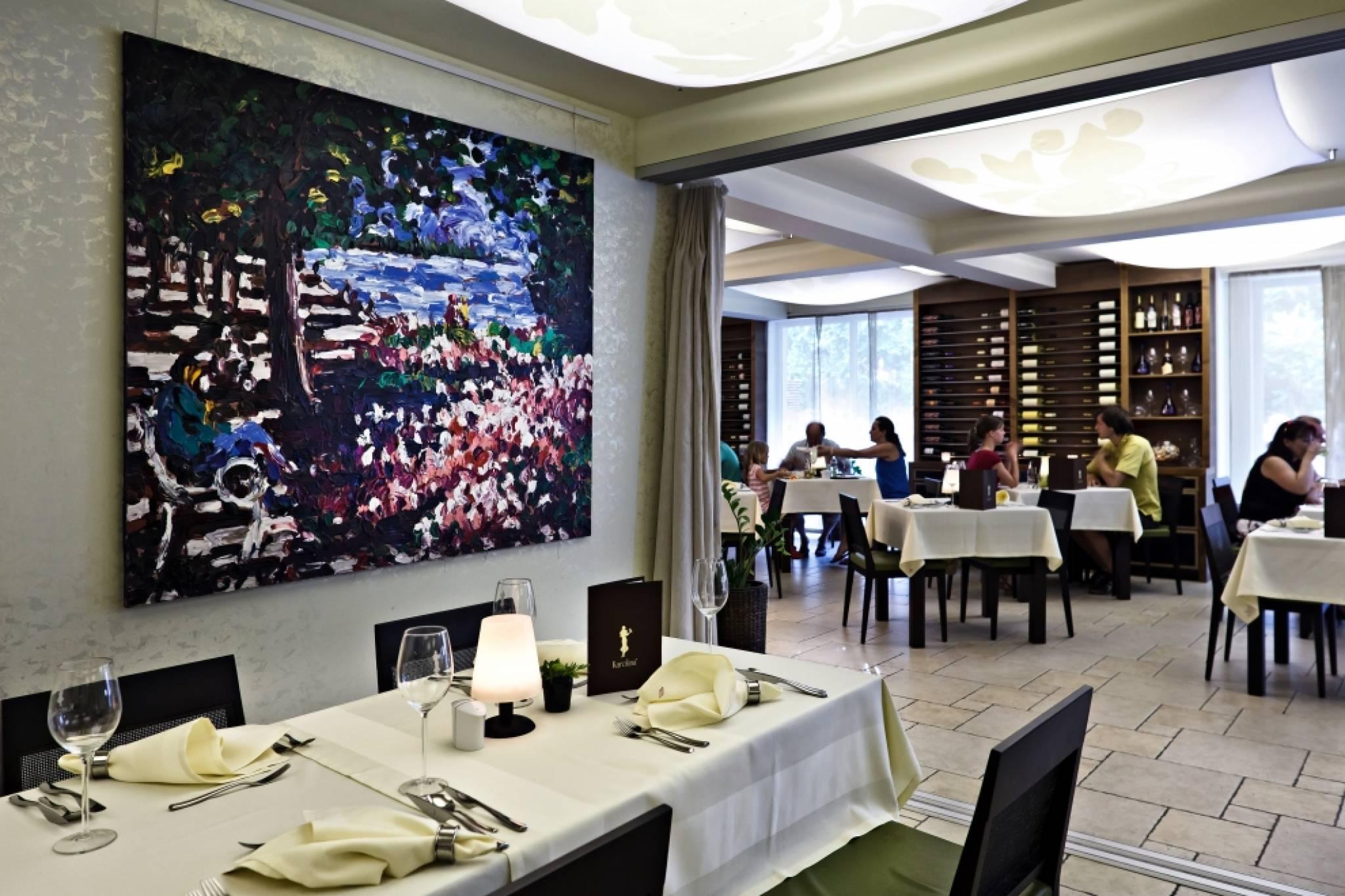 Echo Residence All Suite Hotel Tihany - Fénykép az étteremről