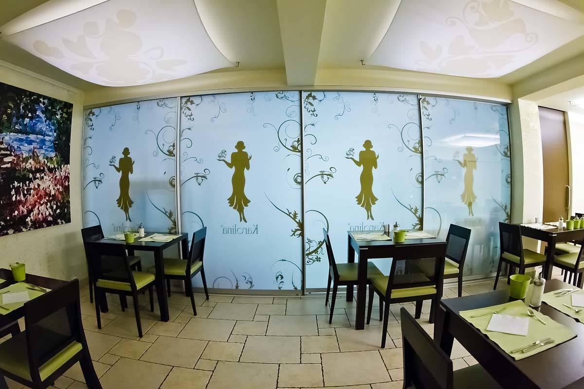 Echo Residence All Suite Hotel Tihany - Kép az étteremről