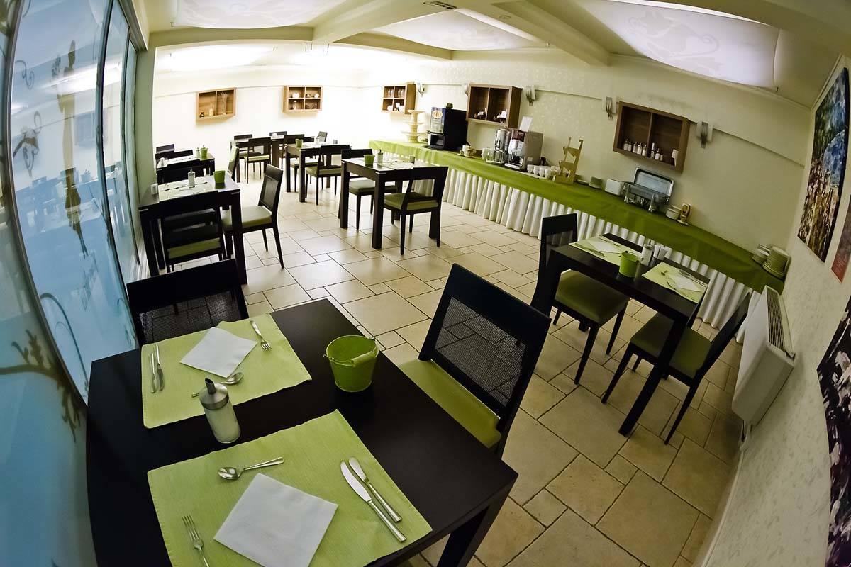 Echo Residence All Suite Hotel Tihany - Fotó a reggeliztetőről