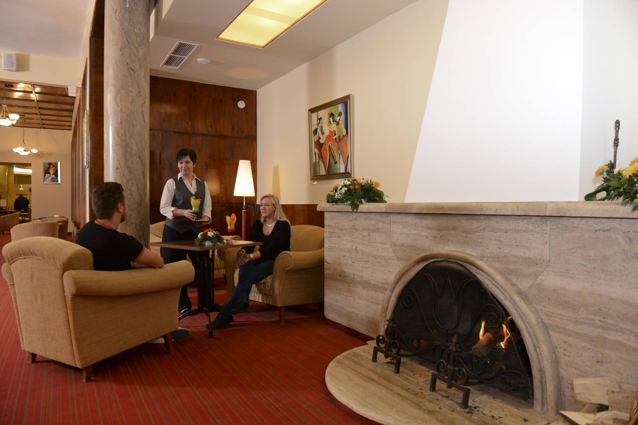 Hunguest Grandhotel Galya Galyatető - Kandalló