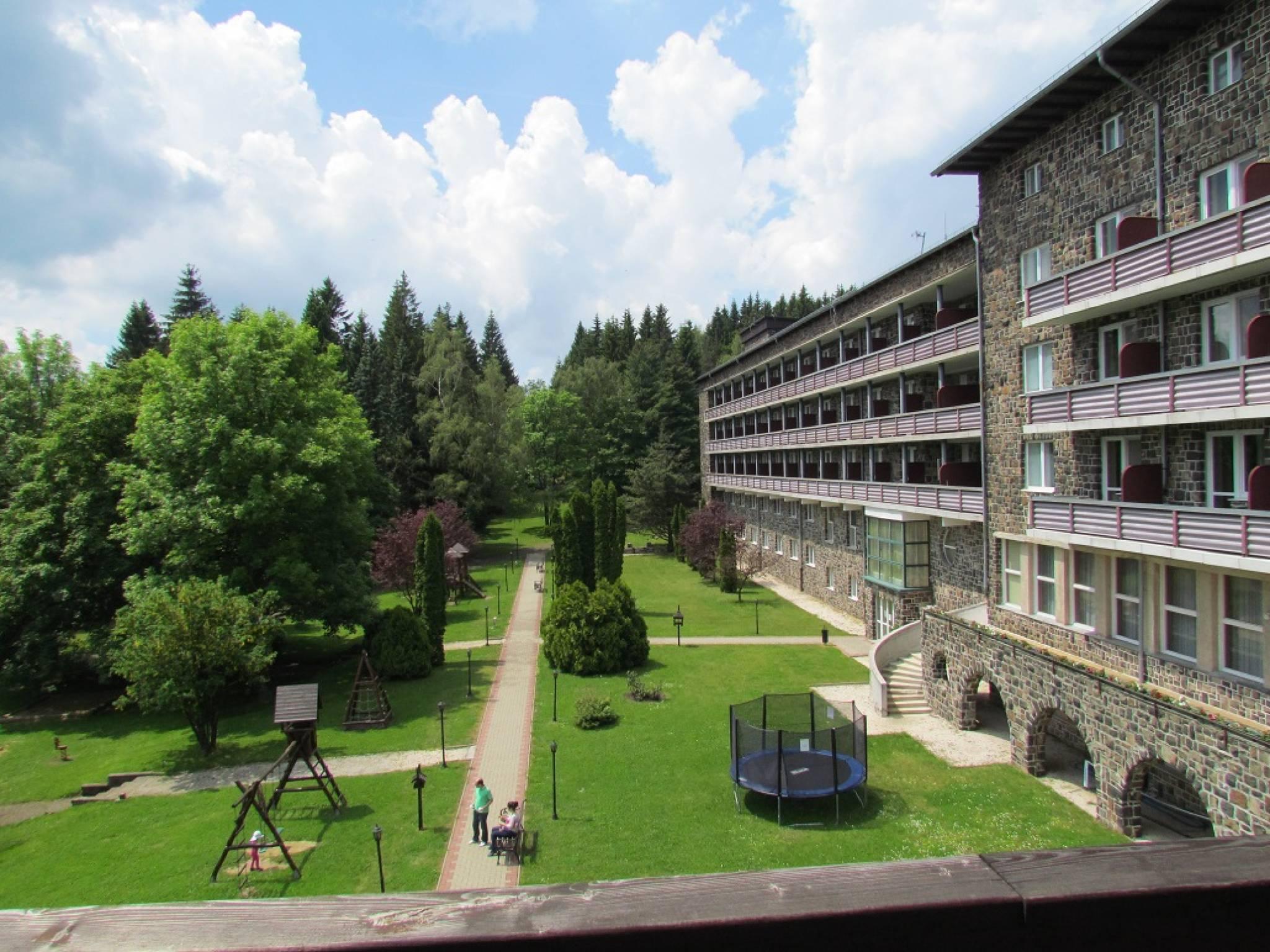 Hunguest Grandhotel Galya Galyatető - Park