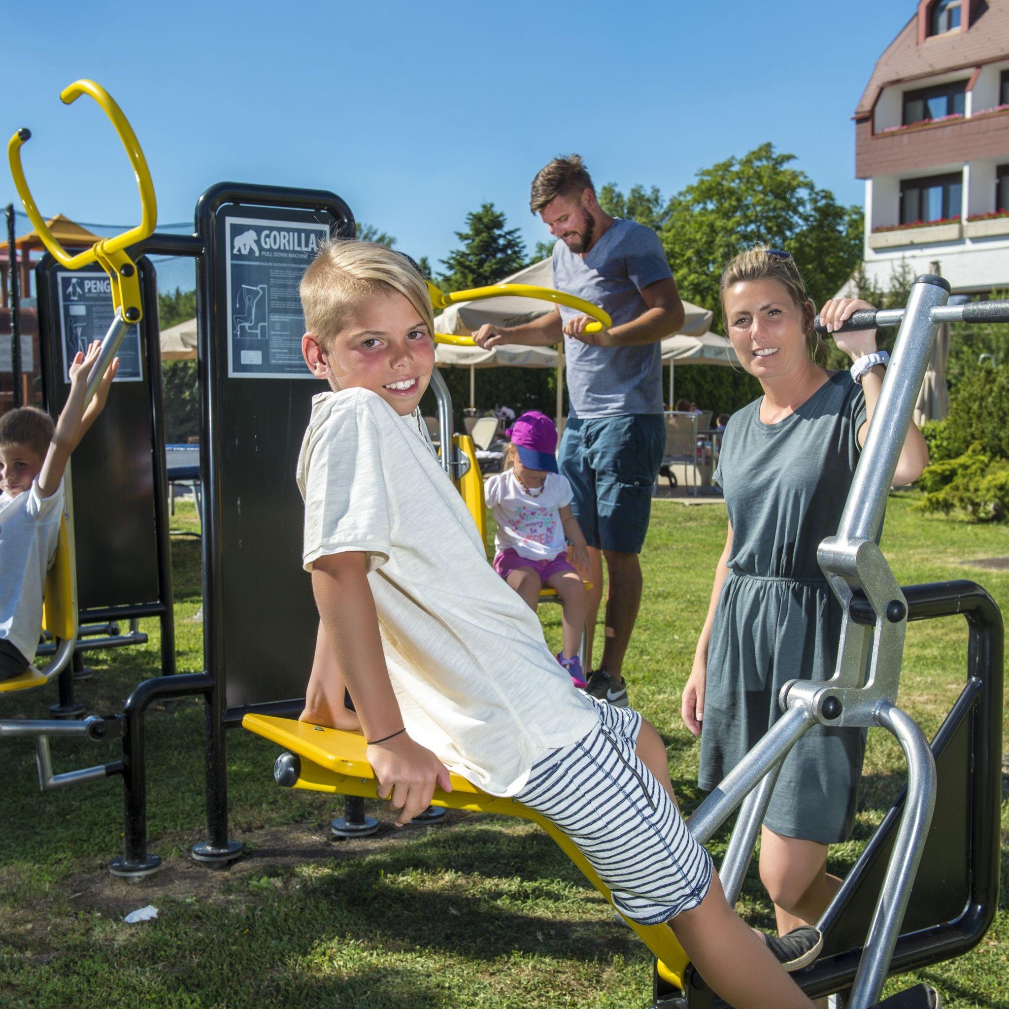 Hotel Sopron - Kültéri kondigépek