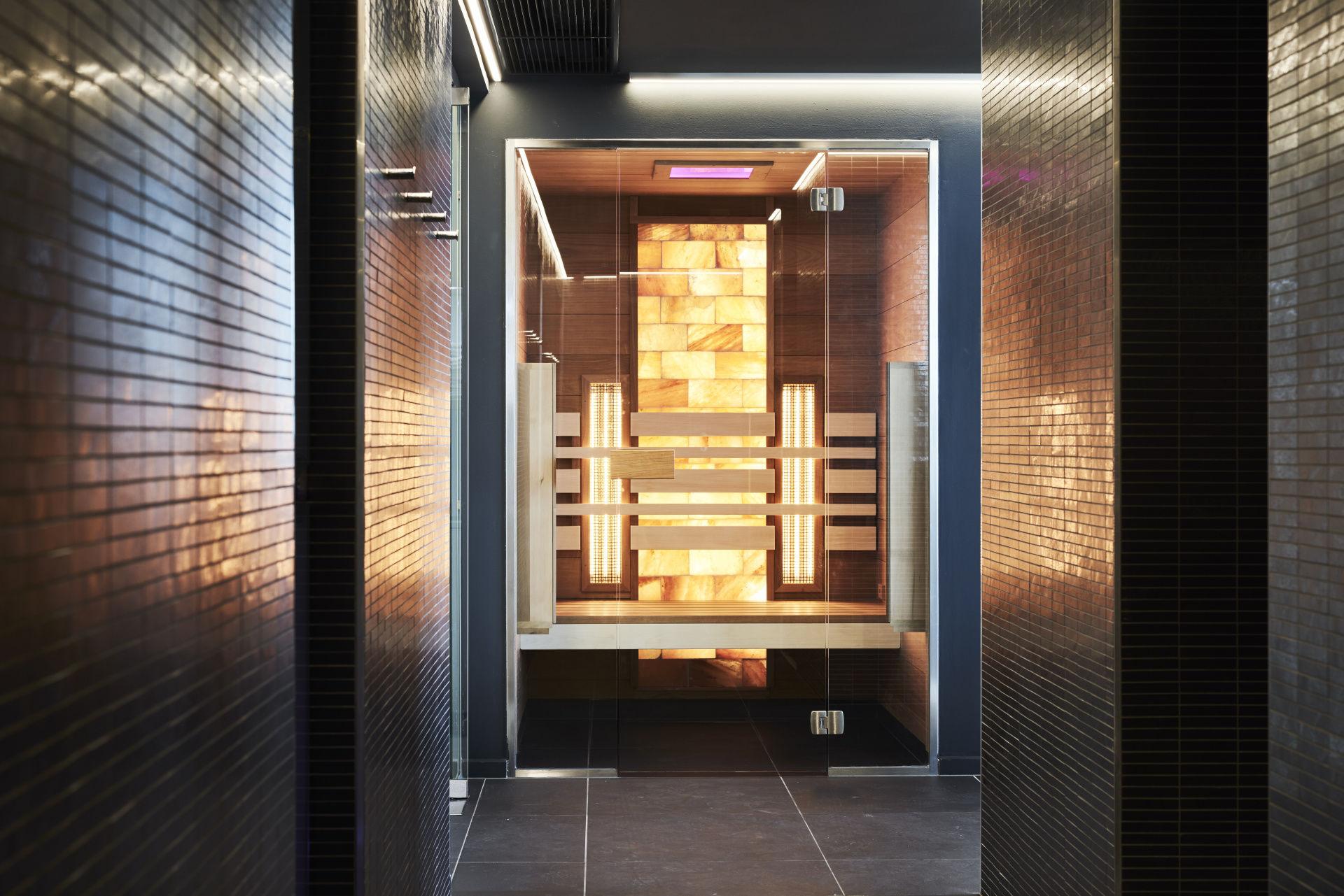 Hotel Sopron - infraszauna és sókabin