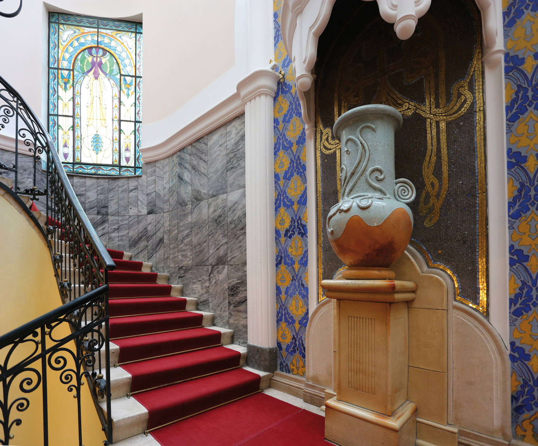 Hotel Palatinus City Center Pécs - Fotó a lobby-ról