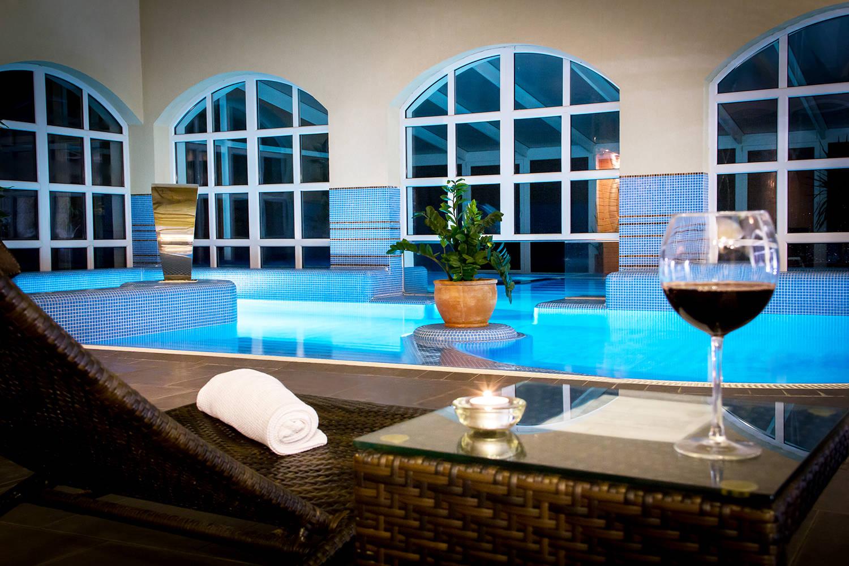 Bodrogi Kúria Wellness Hotel Inárcs - Kép a wellness részlegről