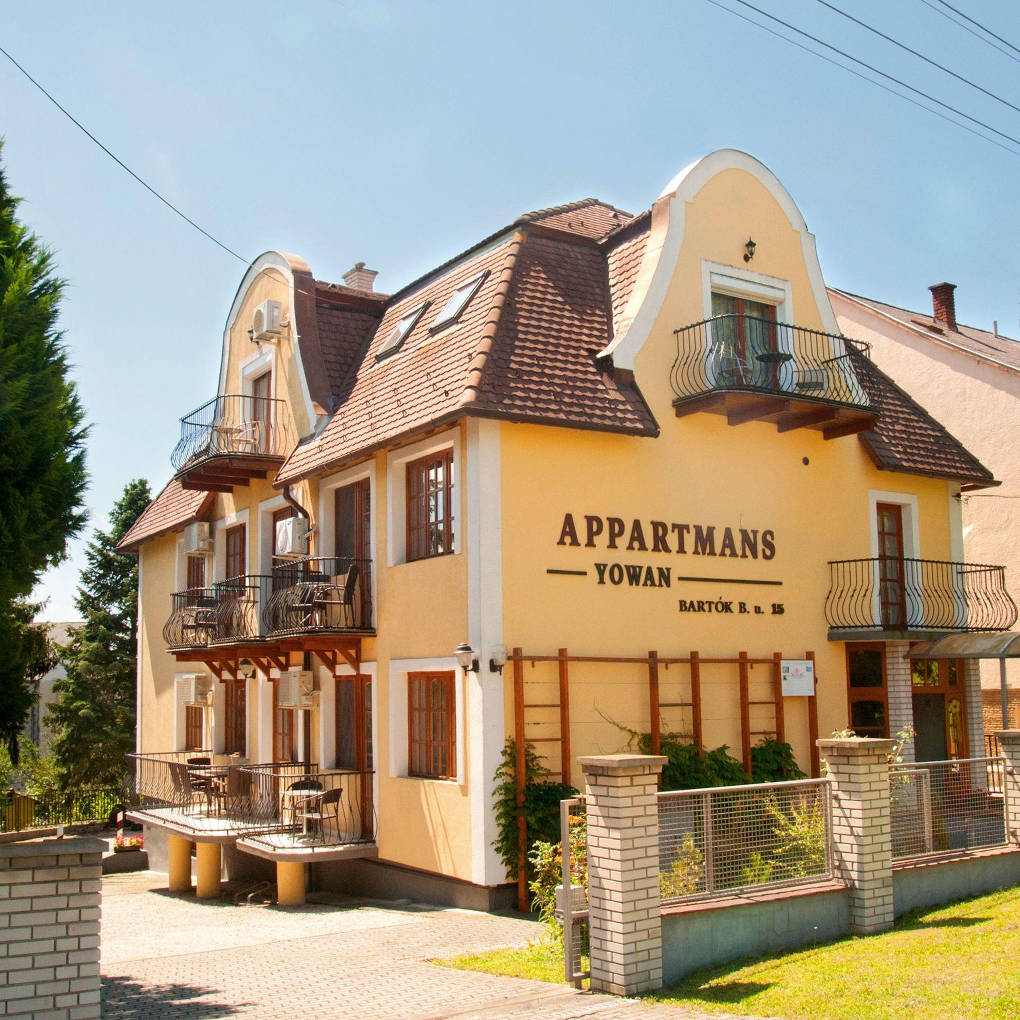 Apartman Yowan Ház Hévíz