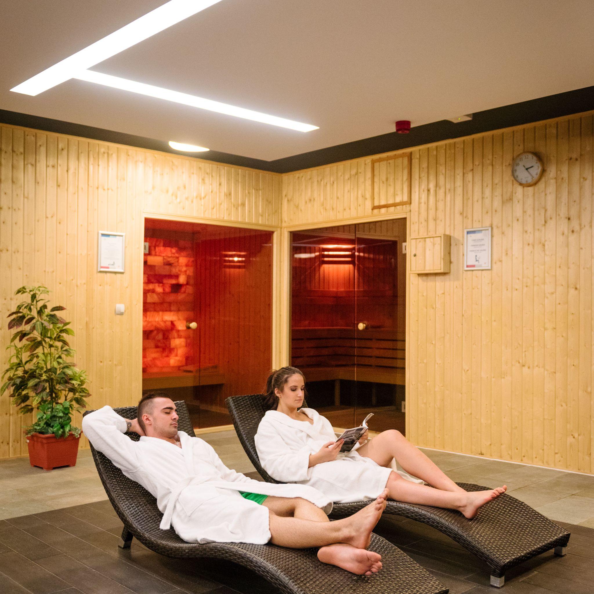 Hotel Yacht Wellness & Business Siófok - Pihenő részleg