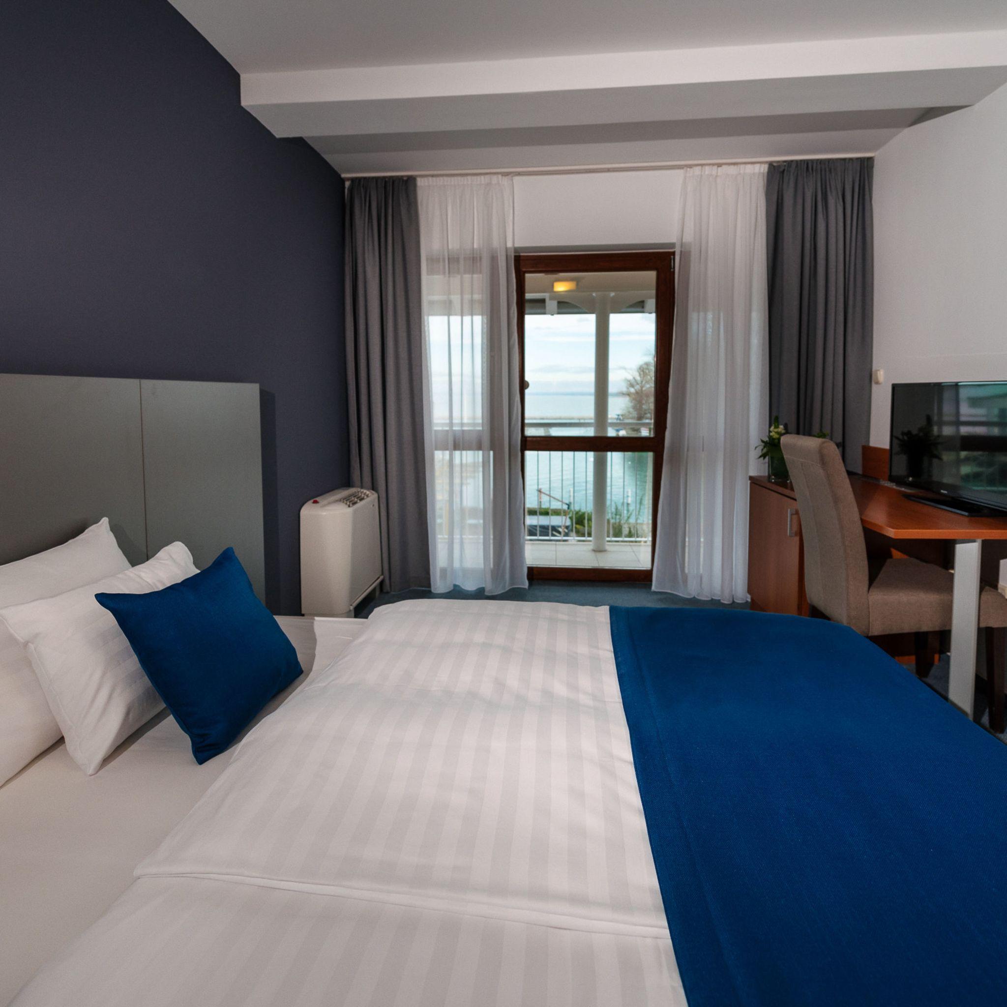 Hotel Yacht Wellness & Business Siófok - Classic kétágyas szoba
