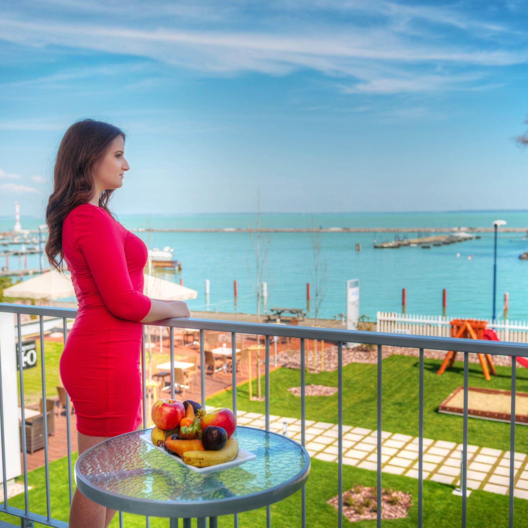 Hotel Yacht Wellness & Business Siófok - Kilátás