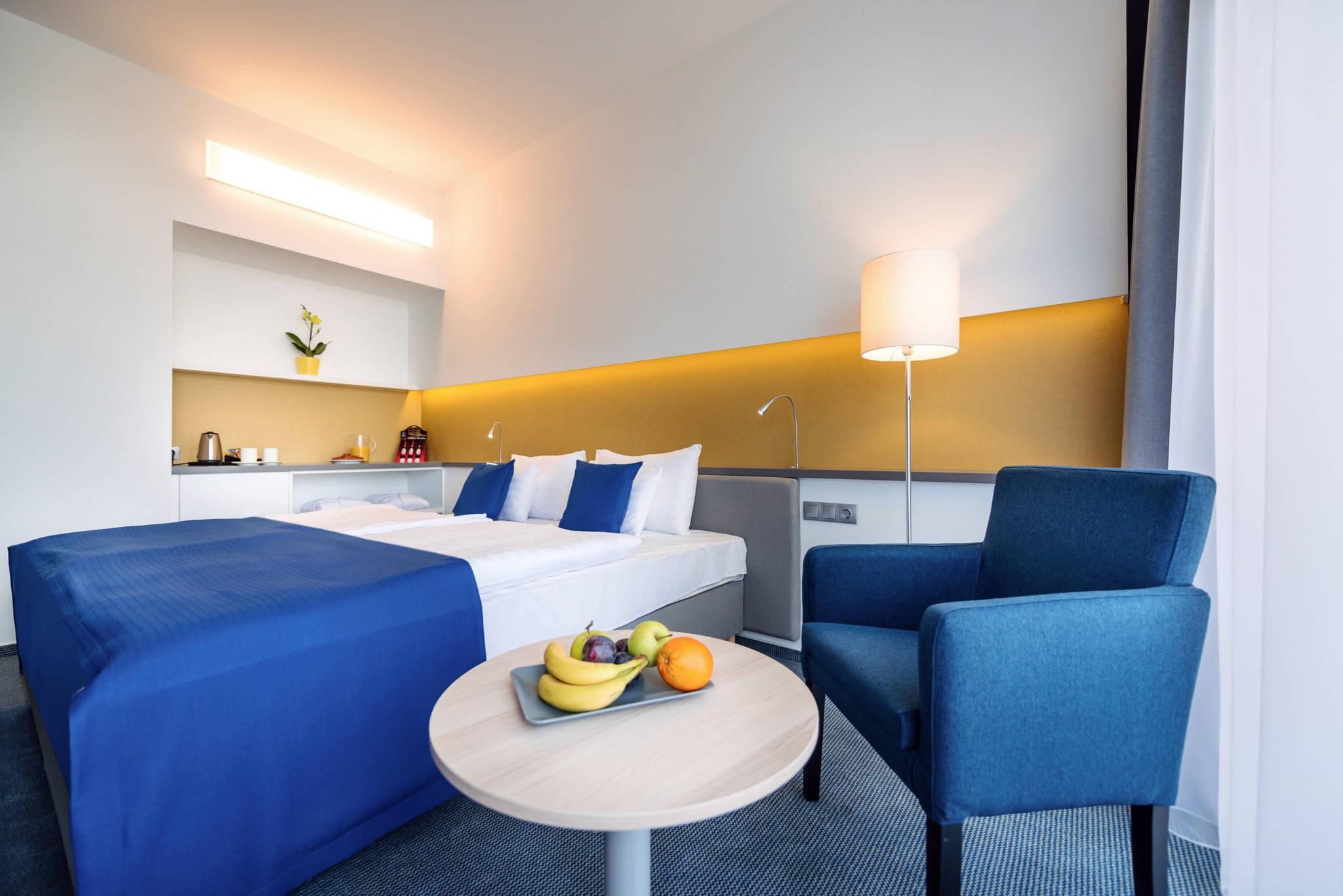 Hotel Yacht Wellness & Business Siófok - Superior kétágyas szoba