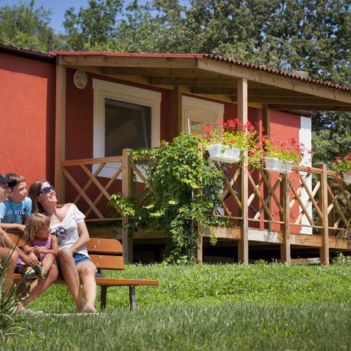 Mobile homes mediterranean premium village novigrad for Mediterranean modular homes