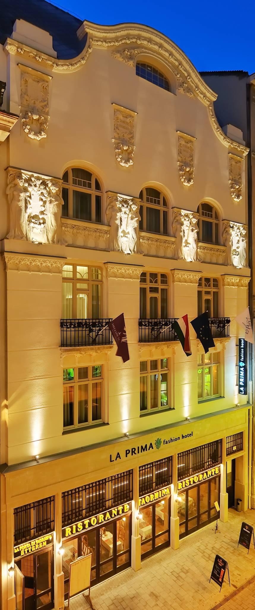 La Prima Fashion Hotel Budapest - Szálloda homlokzat