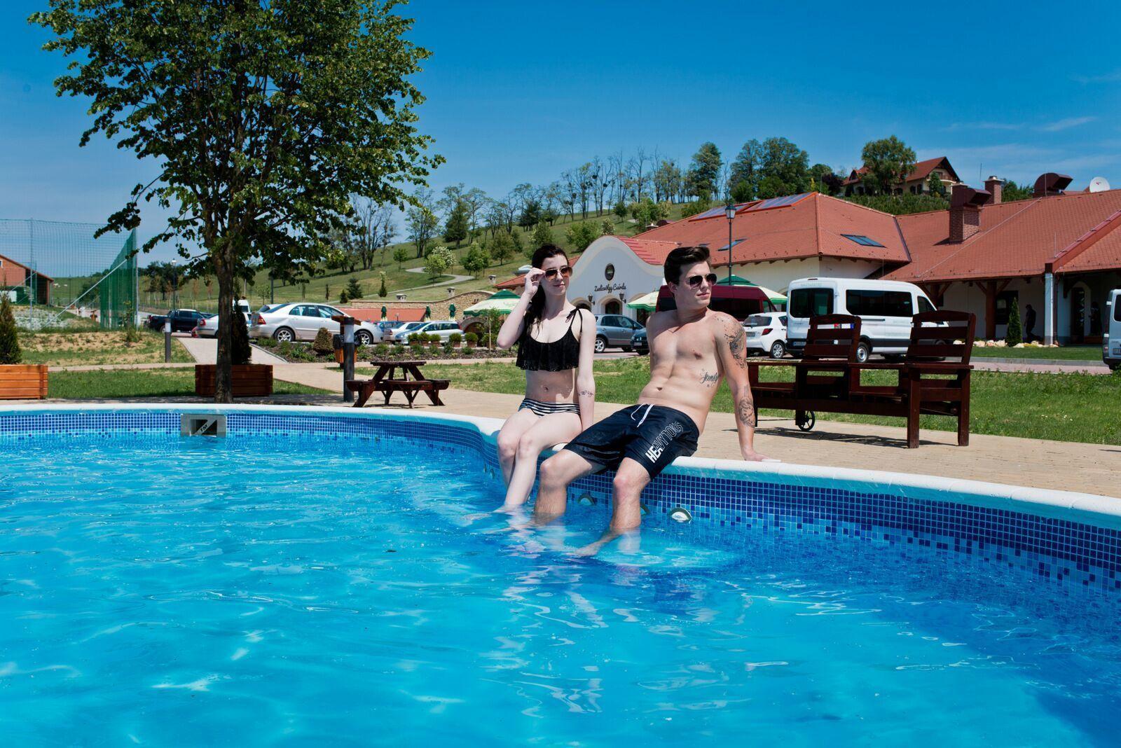 Zselicvölgy Szabadidőfarm Hajmás - A medencénél