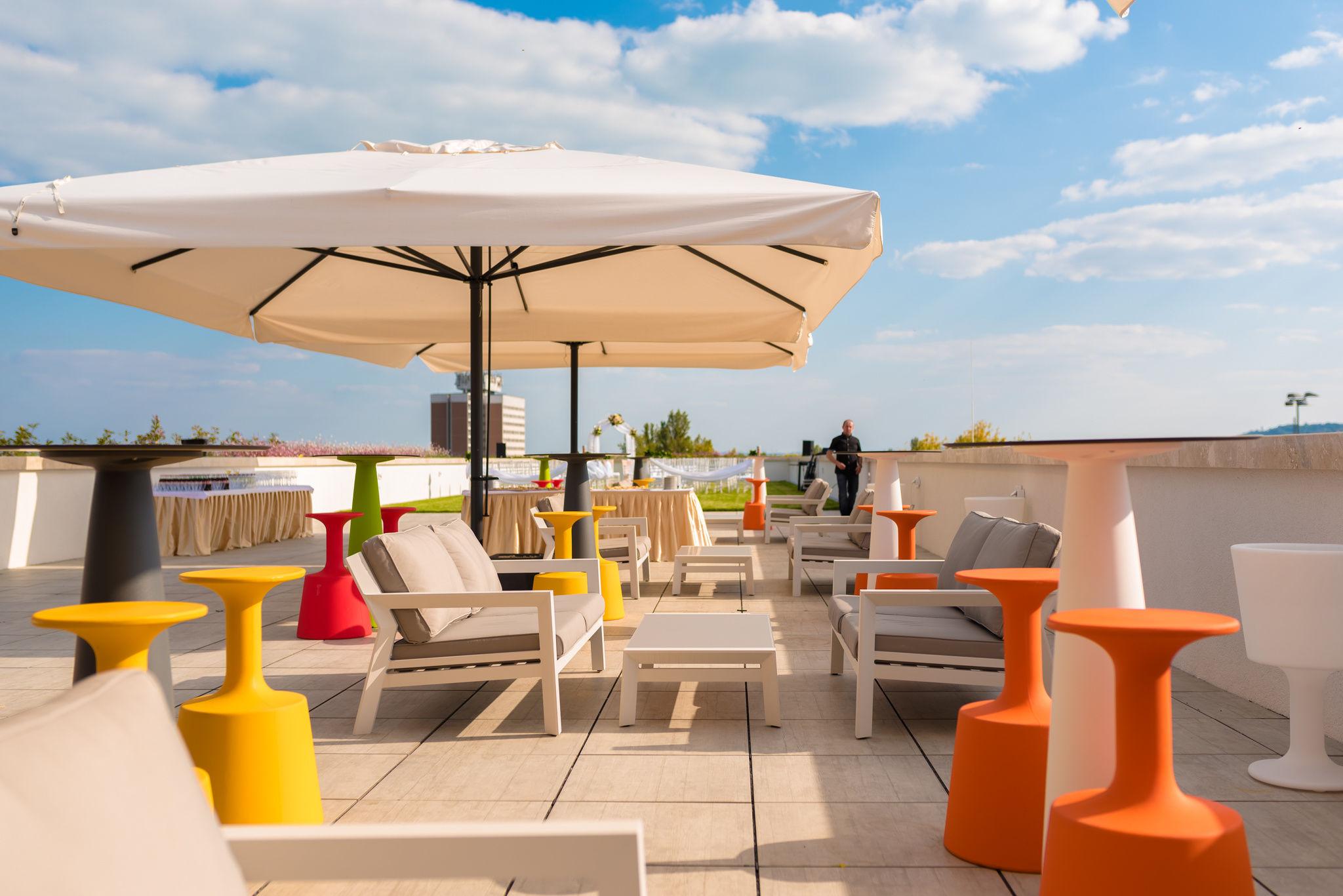 Akadémia Hotel Balatonfüred - Tető terasz