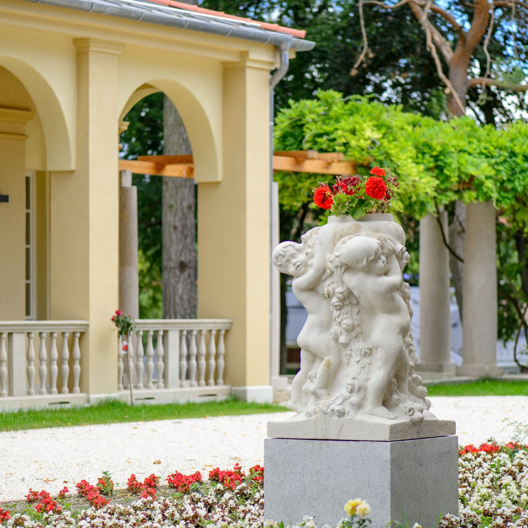 Klebelsberg Kastély Hotel Budapest - Szobor