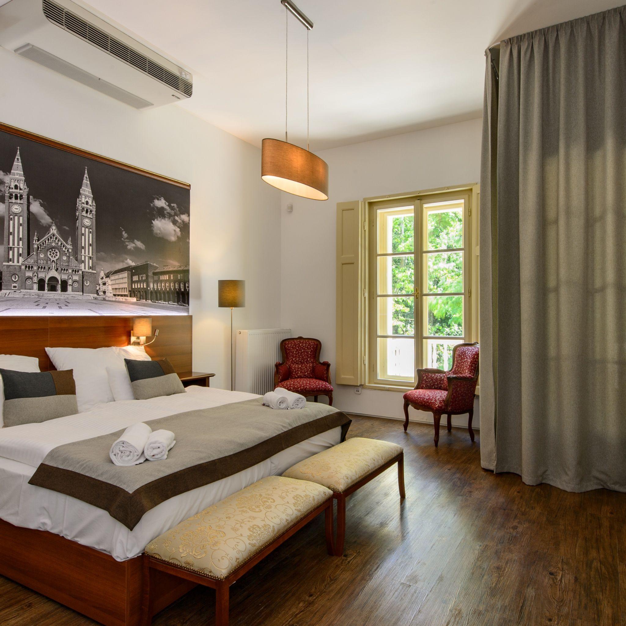 Klebelsberg Kastély Hotel Budapest - Classic elegance kétágyas szoba