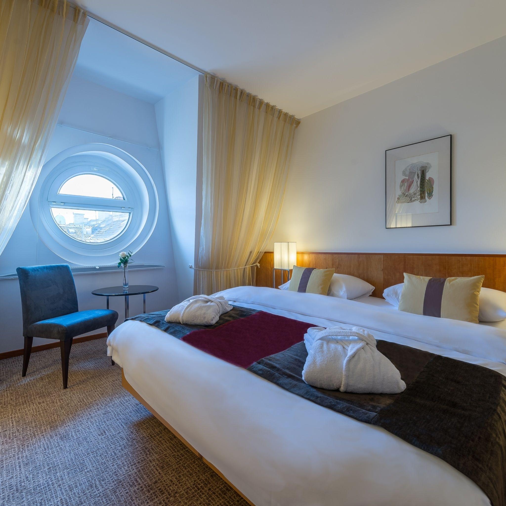 K+K Hotel Opera - K+K Hotel Opera - Suite hálószoba