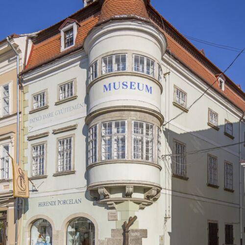 Patkó Imre-gyűjtemény, Vastuskós-ház   Győr