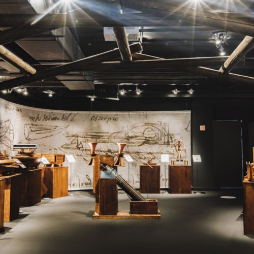 Leonardo da Vinci: Művész-Feltaláló-Zseni interaktív kiállítás