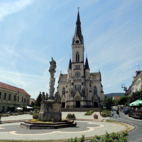 Szentháromság szobor | Kőszeg