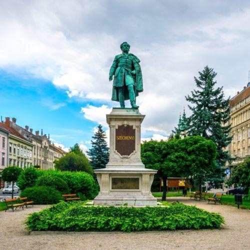 Széchenyi István szobra   Sopron