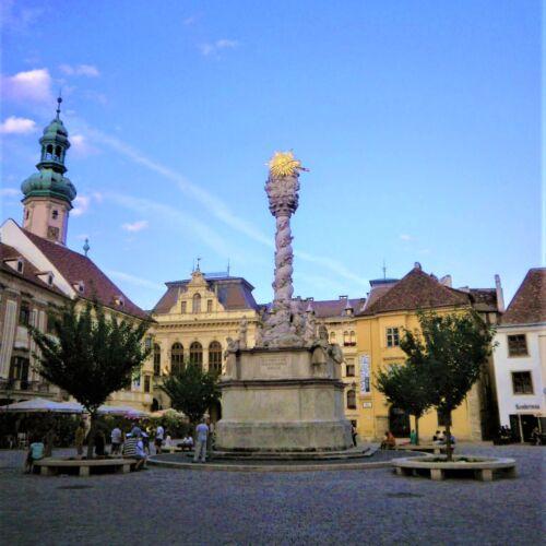 Szentháromság szobor   Sopron