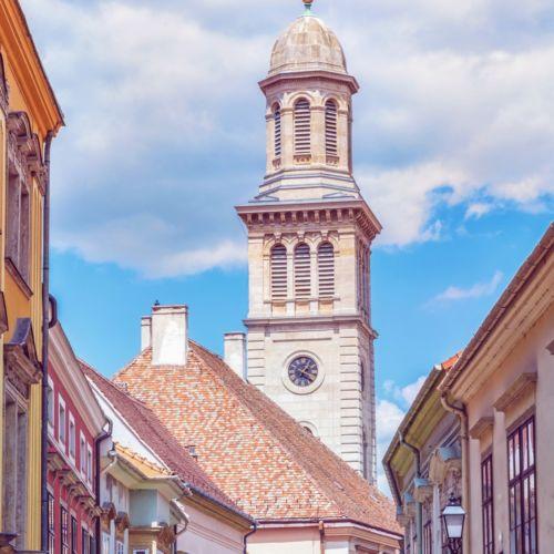 Evangélikus templom   Sopron