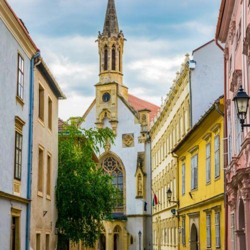 Szent Orsolya templom   Sopron