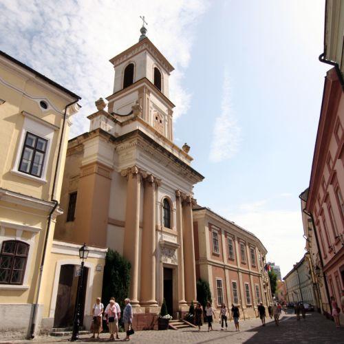 Szent Imre Piarista és Helyőrségi templom   Veszprém