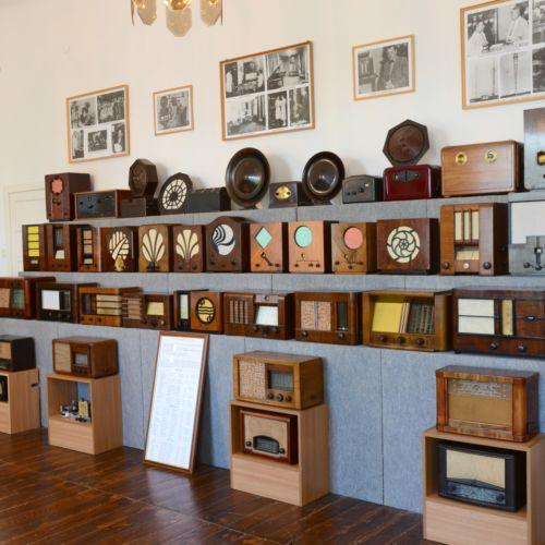 Rádiómúzeum és rádiótörténeti kiállítás