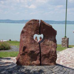 Balaton Szíve szobor | Zamárdi