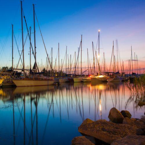 Vitorlás kikötő | Balatonlelle
