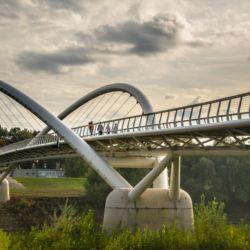 Tiszavirág-híd   Szolnok