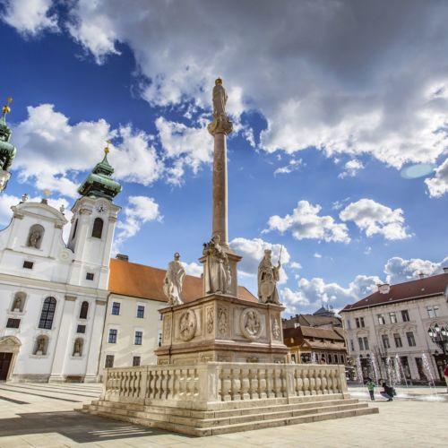 Mária-oszlop | Győr