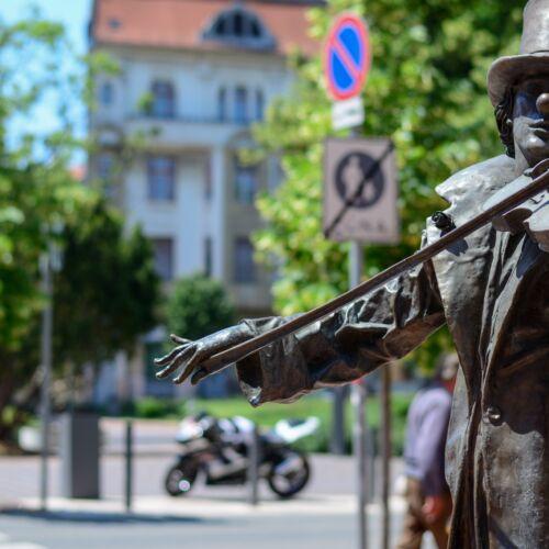 Utcai Zene c. szoborcsoport | Szeged