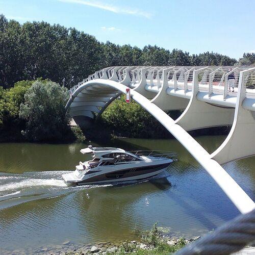 Sugovica gyalogos és kerékpár híd | Baja