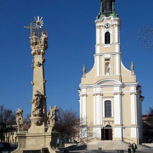 Szentháromság szobor | Szekszárd