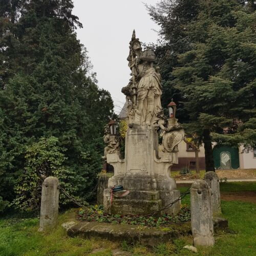 Szent Flórián szobor | Kőszeg