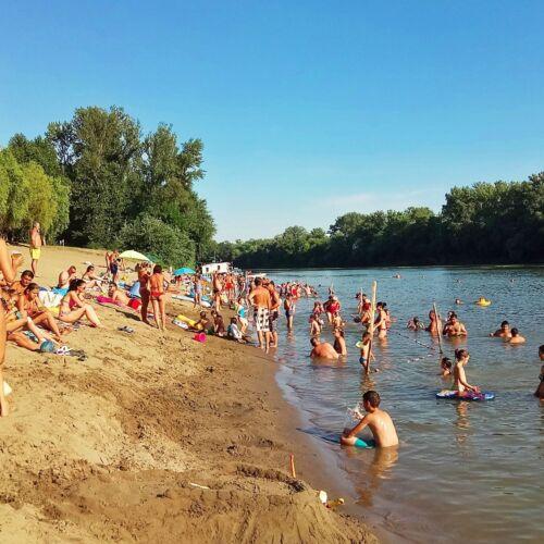 Mindszenti Tisza-parti szabadstrand | Mindszent