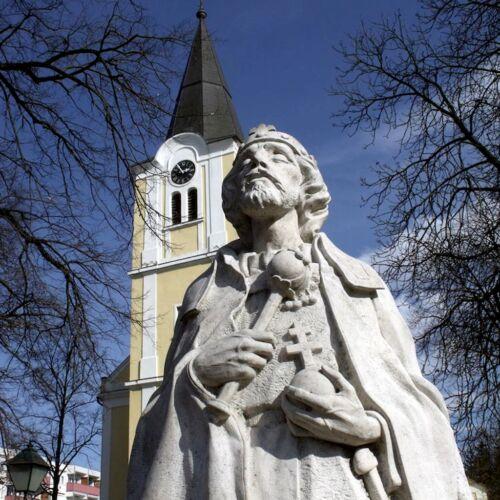 Szent István szobor | Lenti
